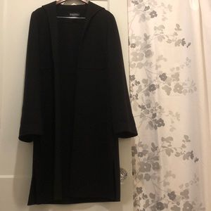 PERFECT BROOKS BROTHERS 🌼 100% Wool Black Coat